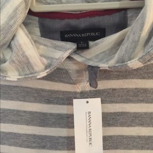 Banana Republic Men's  Hooded Shirt